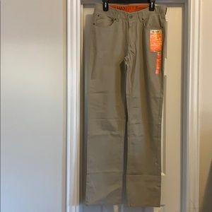 Men's Urban Pipeline khaki pants, Size 32x34